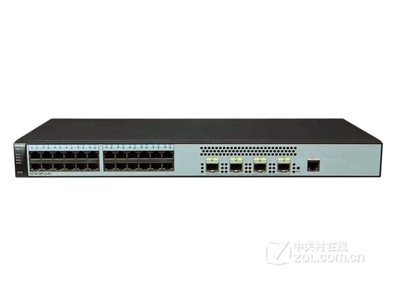 华为S5720S-28P-LI-AC精简型千兆以太网交换机
