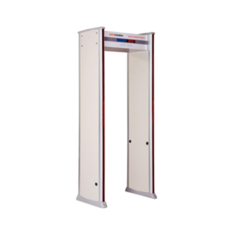 通过式金属探测安检门A型(安检+测温)-非接触红外测温系统